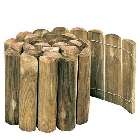 bordura giardino legno bordura rolly cm 20 in legno impregnato per recinzioni
