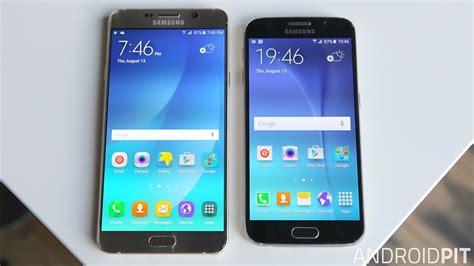 Samsung Galaxy S6 Note Test Comparatif Samsung Galaxy Note 5 Vs Galaxy S6