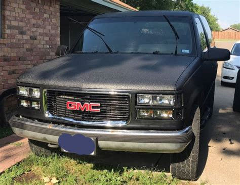 old car repair manuals 1994 gmc yukon instrument cluster 1994 gmc yukon 5 7l 4x4 no reserve for sale in midlothian texas united states