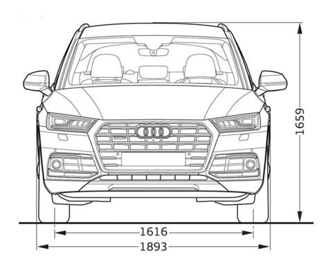 Technische Daten Audi Q5 by Audi Q5 Technische Daten Abmessungen Fahr Galerie