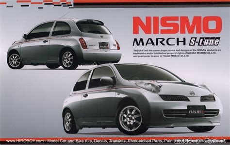 Sparepart Nissan March 1 24 nissan march micra nismo s tune version fuj 18889