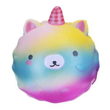 Squishy Rainbow Meses Soft Lent Rising Rainbow Squishy Licorne Kawaii T 233 L 233 Phone