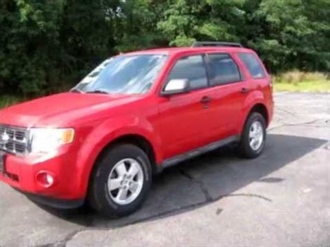 2009 Ford Escape Engine by 2009 Ford Escape Xlt Start Up Engine Review