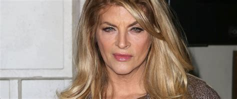 does kirstie alley have hair extensions christie ally or kirstie alley actress put at center of
