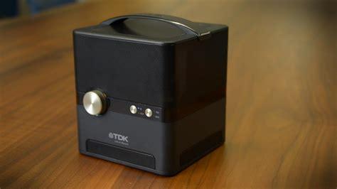 stout speaker  tdk shoots sound   directions