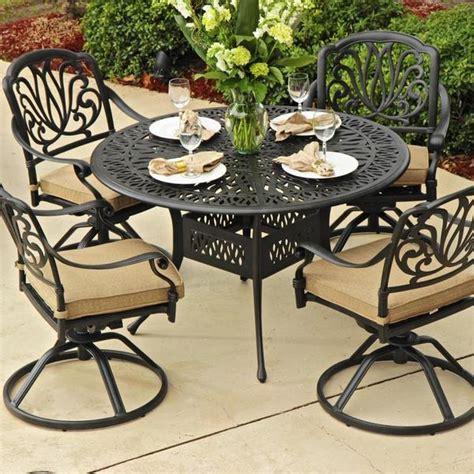 aluminum cast patio dining sets cast aluminum patio dining sets cast aluminum