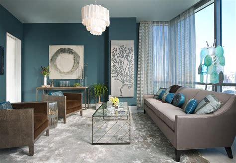 canapé gris bleu chambre ado gris et bleu