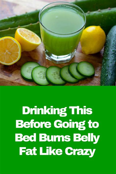 fat burning drinks before bed drinking this before going to bed burns belly fat like