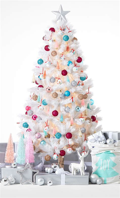 kmart christmas trees 4 ways to style your tree this kmart