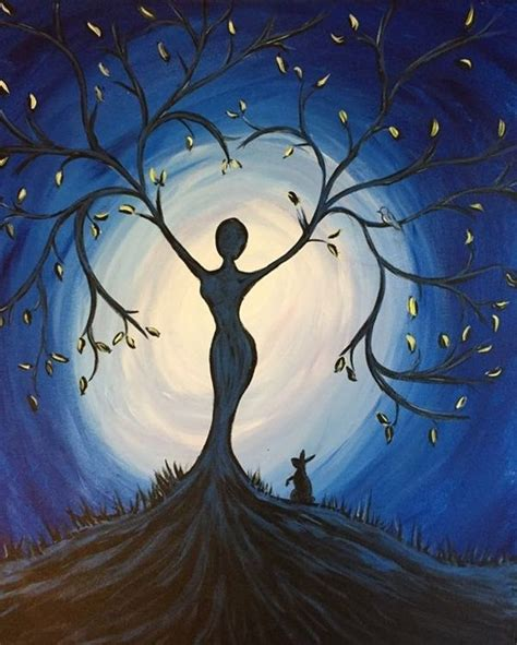 17 best ideas about mystical 30 best acrylic painting ideas for beginners diy
