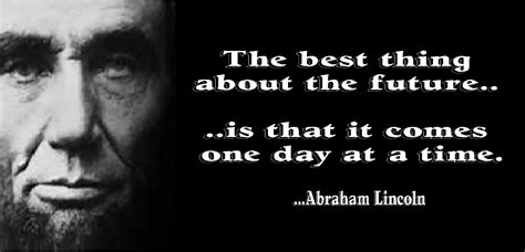 Abraham Lincoln Quotes A Four Letter Word To Live By Pearlsofprofundity