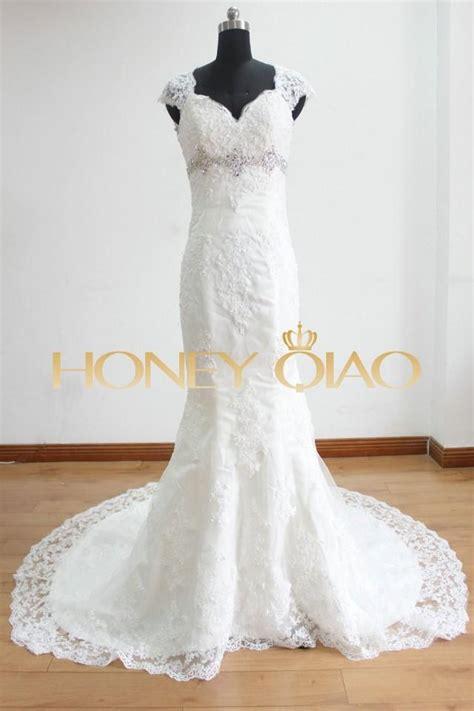 white beaded wedding dress white vintage beaded mermaid wedding dress applique lace