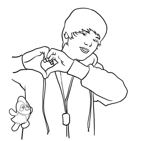 justin bieber coloring sheets coloring town