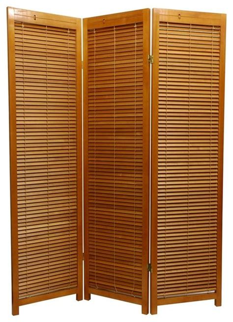 Privacy Screen Room Divider Honey Scandinavian Spruce Multi Panel Privacy Screen Tropical Screens And Room Dividers By
