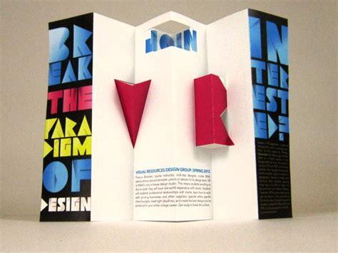 desain poster kreatif contoh desain brosur pop up 3d kreatif atraktif