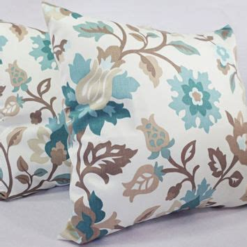 brown sofa with blue pillows best throw pillows for brown couch products on wanelo