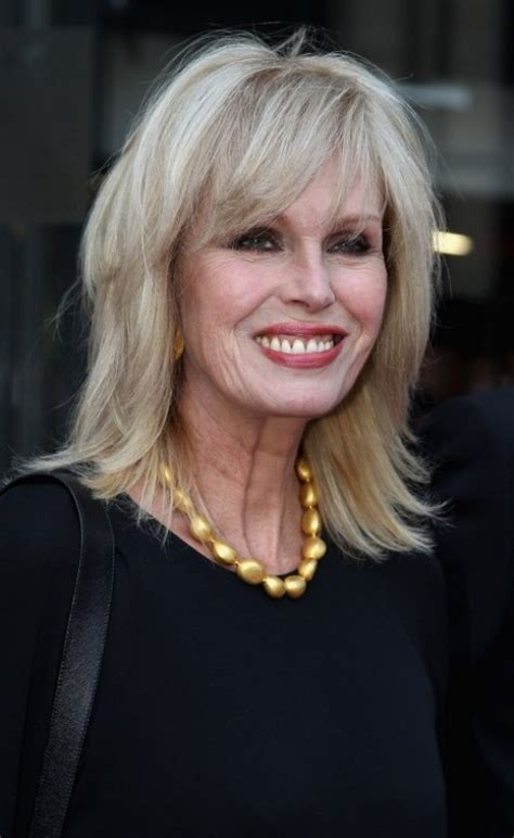 joanna lumley s long layered hair cut beauty hair
