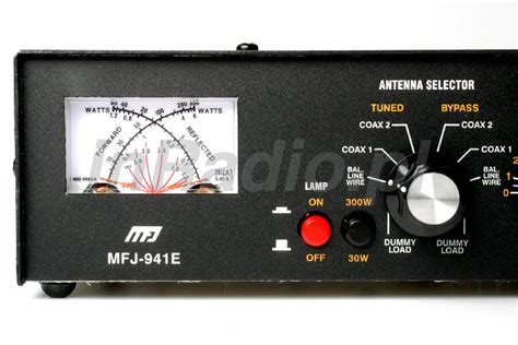 mfj inductor switch mfj 941e 300w antenna tuner 1 8 30mhz with cross meter worldwide delivery mfj941 ebay