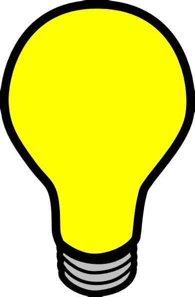 Blinking Light Bulb Clipart Animated Lights Clipart