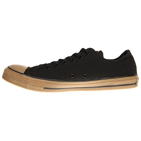 converse mens chuck all gum bottom black sneaker 3 5 shoes in the