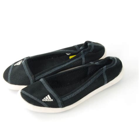adidas boat slip on sleek water shoe size 7 black