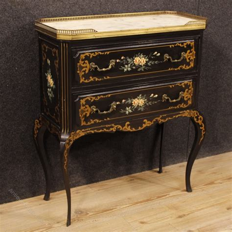 commode atlas antiques atlas commode in lacquered and painted wood