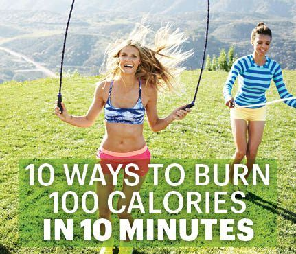 10 Ways To Burn More Calories During The Day by 10 Ways To Burn 100 Cals In 10 Minutes Creative Burn