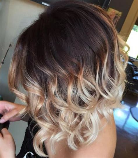 hairstyles colours 2018 ombre short hairstyles 2018 trend ombre hair colours short