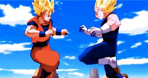 Goku vs vegeta gif tumblr