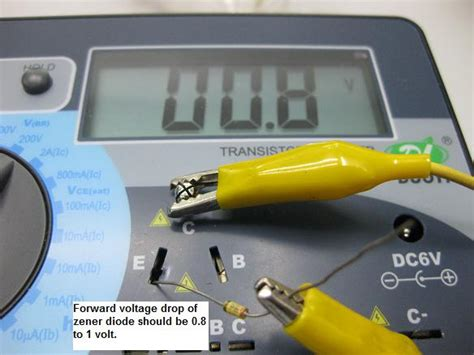 zener diode drop voltage review of the dy294 digital transistor tester part 2 electronics repair and technology news