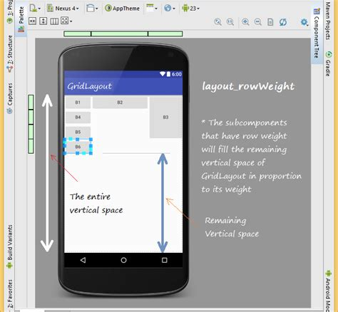 android layout weight default value android ui layouts tutorial