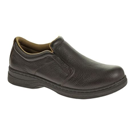 oxford slip on shoes wolverine wolverine w10328 mens hume steel toe oxford slip