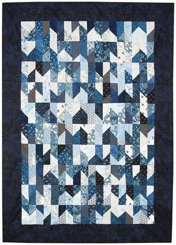 Blue Quilts For Sale Blue Rock Roll Finished Quilt For Sale