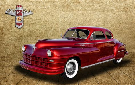 frank benz 1947 chrysler windsor photograph by frank j benz