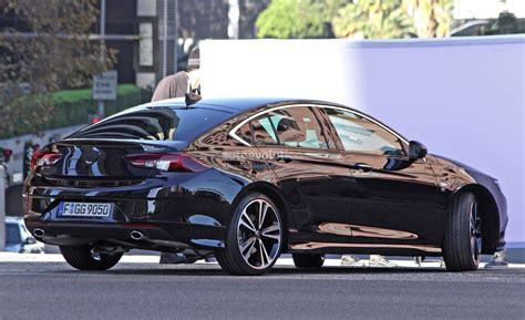 opel insignia 2017 black 2017 opel insignia spied sans camouflage looks all grown