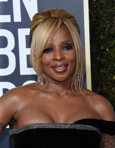 mary j blige pictures mary j blige golden globe awards 2018