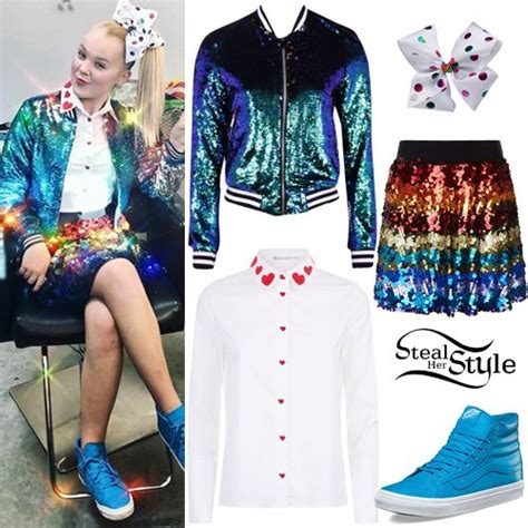jojo siwa clothes outfits steal  style jojo siwa