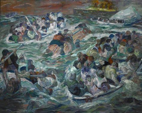 picasso paintings lost in titanic beckmann work at st louis museum depicts titanic