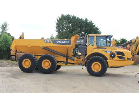 volvo rock trucks volvo a 25f rigid dumper rock truck from for sale