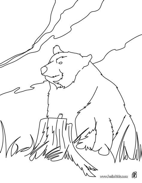 kodiak bear coloring page kodiak bear coloring pages hellokids com