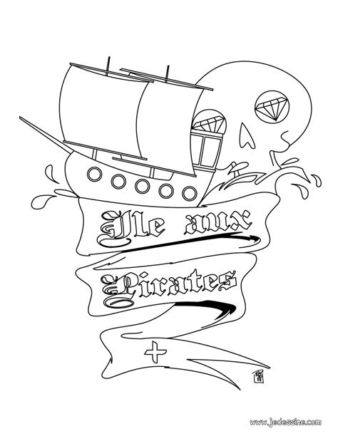dessin bateau pirate des caraibes coloriage 195 dessiner pirate des caraibes 4 a imprimer