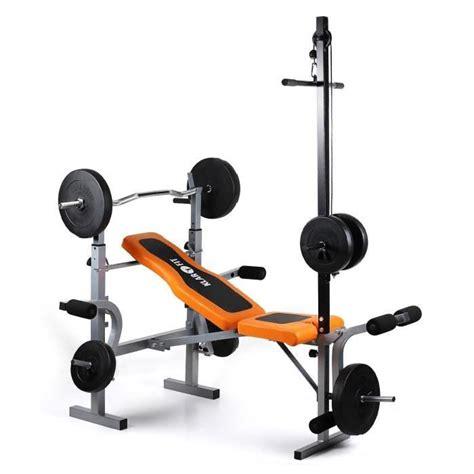 banc de musculation poids klarfit ultimate 3500 banc de musculation complet