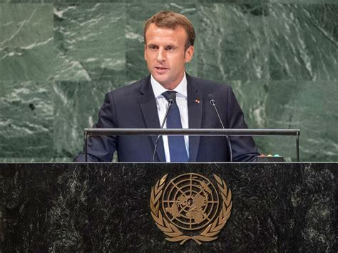 emmanuel macron united nations speech dialogue and multilateralism key to tackling global