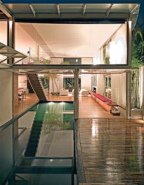 piscina interna casa piscinas 30 projetos de todos os tamanhos e estilos