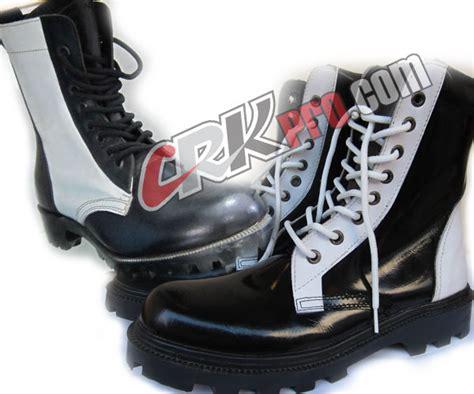 Sepatu Boot Paskibra sepatu provost polisi militer pm kulit tni polri