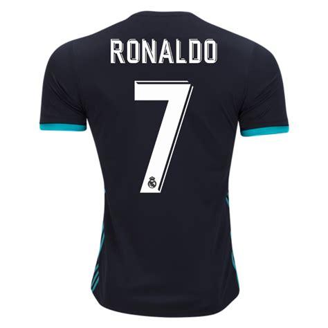 Jersey Bola 7 Ronaldo Real Madrid Third 17 18 Grade Ori Font Ucl real madrid 17 18 away jersey cristiano ronaldo 7 172075 163 21 00 elmontyouthsoccer