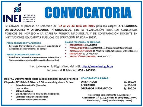 convocatoria para servicio de convocatorias de trabajo universidad andina n 233 stor