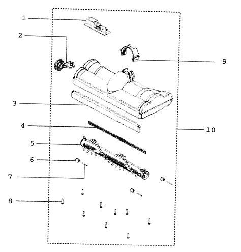 dyson dc24 parts diagram dyson inc vacuum parts model dc24 sears partsdirect