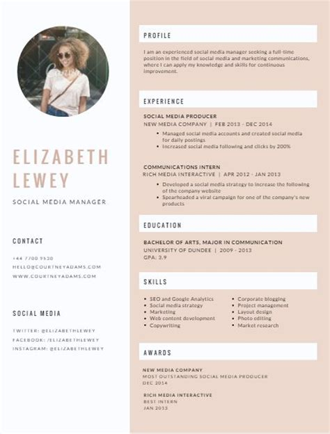 Cover Letter Template Canva 1000 Resume Ideas On Resume Styles Resume And Resume Templates