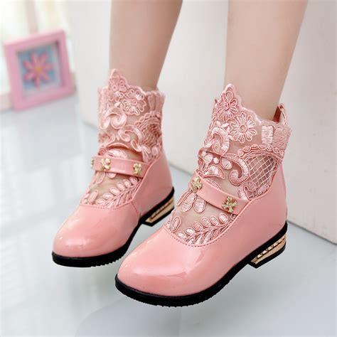 Sepatu Putri 2015 musim semi musim gugur pasang korea gadis putih putri sepatu kulit anak bunga gaun minnie